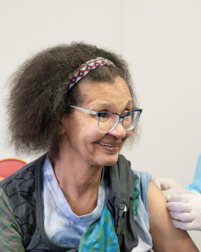 Vaccination à Eben